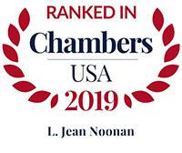 Chambers ranking recognition for L. Jean Noonan